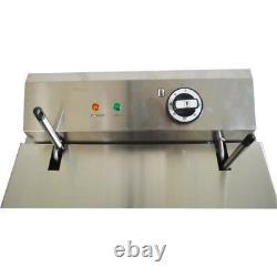 110V 60HZ 2KW Funnel Cake Fryer Machine Maker 2 Ring Molds