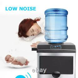 160W Automatic Electric Ice Cube Maker Machine Countertop Bullet Ice Maker 220V