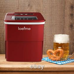 2L Ice Maker Machine Automatic Electric Ice Cube Maker Countertop 12KG/24H UK