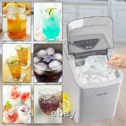 2L Ice Maker Machine Automatic Electric Ice Cube Maker Countertop 15KG/24H UK