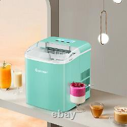 2.1L Ice Maker Machine Automatic Electric Countertop Ice Cube Maker 12kg Ice