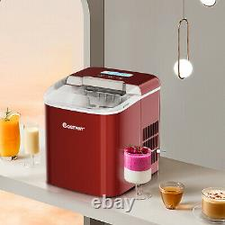 2.1L Ice Maker Machine Automatic Electric Ice Cube Maker Countertop 12KG/24H