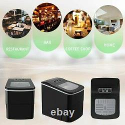 AGLUCKY Counter top Ice Maker Machine, Compact Automatic Ice COLOR SELECTION