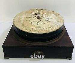 Antique Boye Sewing Machine Needle Countertop Display Case with Drawer & Supplies