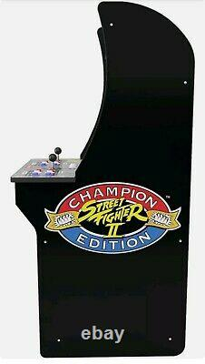 Arcade1UP Machine Street Fighter Retro Style Countertop 3 in 1 Game 2 Players UK
