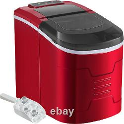 Automatic Electric Ice Maker Machine Counter Top Cocktails Drinks 26 Ibs 2.4L