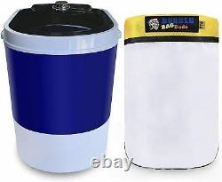 BUBBLEBAGDUDE Bubble Bag Machine 5 Gallon With 220 Micron Zipper Bag Ice Mixing