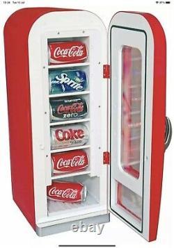Coca Cola Retro Vending Machine 10 Can Fridge Cooler