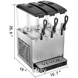 Commercial Beverage Dispenser Machine Cold Drink Juice 12L3 Stainless Steel