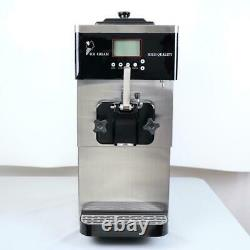 Commercial Single Head Ice Cream Machine with Built in Refrigerator