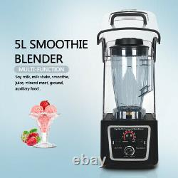 Commercial Smoothie Blender Machine 5L 2200W Countertop Blenders