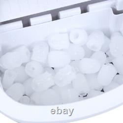 Commercial Stainless Steel ABS Ice Maker Machine Counter Top Bullet Ball 2 Size