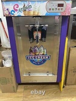 Commercial soft ice cream machine