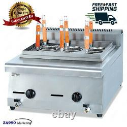 Commerical Gas Countertop Pasta Cooker Machine With 6 Basket