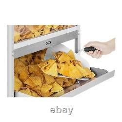 Counter Top Nacho Warmer Cabinet Retro Cinema Cheese Nacho Machine With Scoop