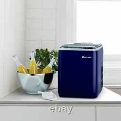 Electric Countertop Ice Cube Maker 2.6L Portable Ice Machine With Ice Yield 20kg