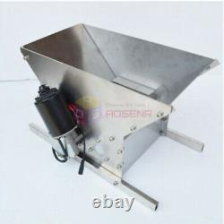 Electric Grape Crusher Wine Brewing Equipment Grape Crushing Machine 2 Rollers