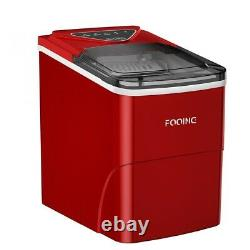 FOOING Digital Ice Machine Ice Cube Maker Counter Top 2L for Home Bar Kitchen