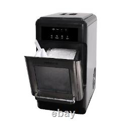 FRIGIDAIRE Countertop Ice Maker Nugget Style Machine Chewable Silver 44 lbs New