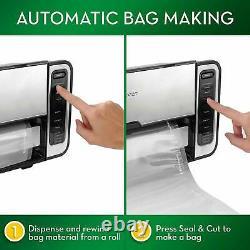 FoodSaver FM5860 Vacuum Sealer Machine with Express Bag Maker and Auto Bag Disp