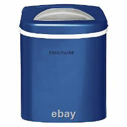 Frigidaire Compact Portable Kitchen Countertop Ice Cube Maker Machine, Blue