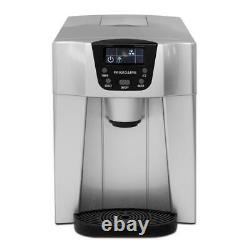 Frigidaire Portable Kitchen Countertop Ice Cube Maker & Water Dispenser Machine