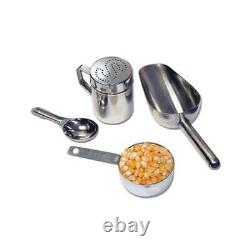 Funtime Countertop Popcorn Machine Popper Maker 8 Oz Commercial Stainless Steel
