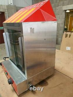 Hot Dog Cart Cooker Electric Warmer Machine Hotdog Commercial Display A5423