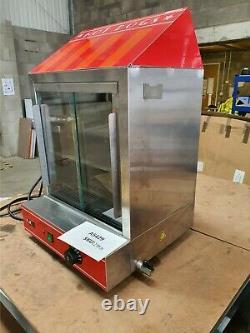 Hot Dog Cart Cooker Electric Warmer Machine Hotdog Commercial Display A5429