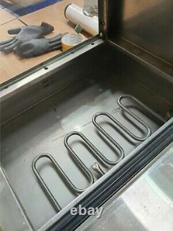 Hot Dog Cart Cooker Electric Warmer Machine Hotdog Commercial Display A5430