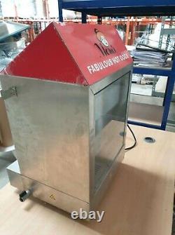 Hot Dog Cart Cooker Electric Warmer Machine Hotdog Commercial Display A5437