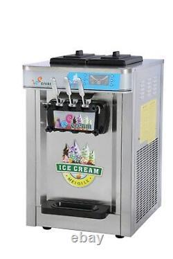 Ice Cream Machine Soft Mr Whippy New Triple Head Commercial Uk Stock