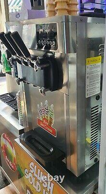 Ice Cream Machine Soft Mr Whippy Triple Head