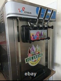 Ice Cream Machine Soft Mr Whippy Triple Head Commercial