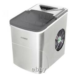 Ice Cube Maker Machine Countertop 2L Ice Making with Self Clean Function LED