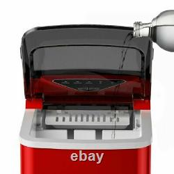 Ice Maker Electric Countertop Ice Cube Making Machine With Self-cleaning Function