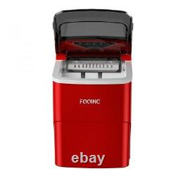 Ice Maker Machine Compact Portable Countertop Ice Cube Maker Fooing