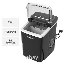 Ice Maker Machine Electric Automatic Countertop Ice 26 lbs Cube Maker Machine 2L
