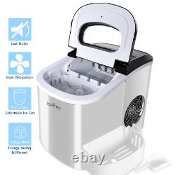 Ice Maker Machine Electric Automatic Countertop Ice Cube Maker Machine 2.2L