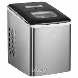 Ice Maker Machine Portable Counter Top Ice Cube Maker for Home 12kg in 24 Hrs