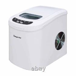 Ice Maker Nugget Pellet Countertop Machine Digital Control Panel Portable White