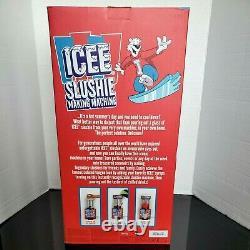 Iscream Genuine Icee Slushie Making Machine For Counter-Top Home Use New