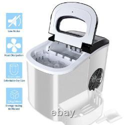 Loefme Portable Ice Maker Machine Ice Maker Countertop 26 lbs Ice in 24 Hours/UK