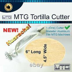 MTG Tortilla Machine Gen5 Roller Crank Ultimate PK 6 Different Cutters Included