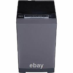 Magic Chef MCSTCW16S4 1.6 Cu Ft Portable Top Load Washer Washing Machine, Gray