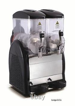 New 2 Container Slush Machine Fast Freeze Uk Seller
