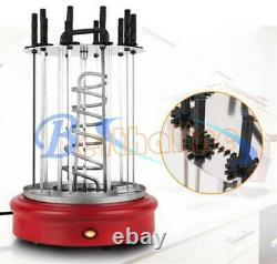 New Grill Kebab Machine Rotisserie Electric Countertop Rotating Oven Skewer