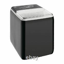 Nisbets Essentials Countertop Ice Machine Black Self Clean Function 20kg Output