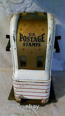 Northwestern U. S. Postage Stamps Vending Machine counter top Dime 3 & 4 cent