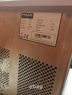 Polar Counter Top Ice Machine Manual fill 17kg Output G620 Catering Bar Cafe